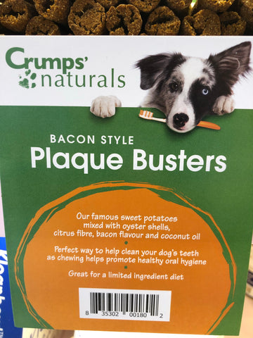 Crumps' Naturals Plaque Busters Oyster with Bacon - 7""