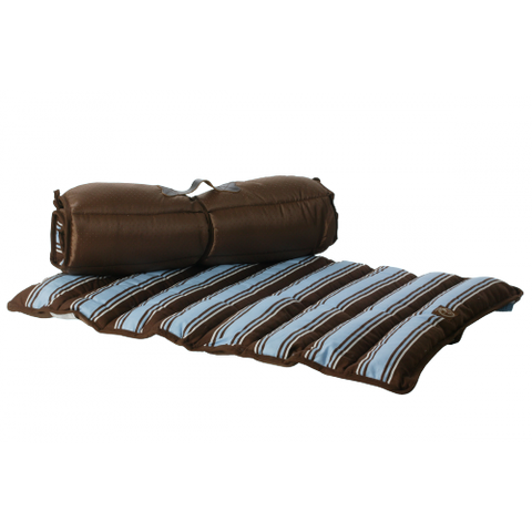 One for Pets Roll-up Travel Bed  - Blue - XS