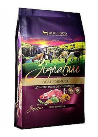 Zignature Dog Food Limited Ingredient Formula Grain Free Goat 4lb