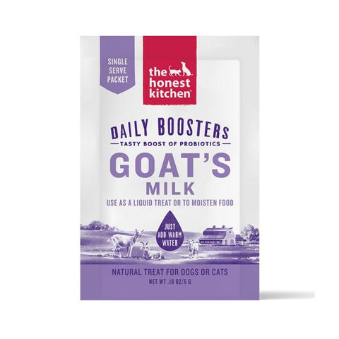 THE HONEST KITCHEN® GOAT'S MILK WITH PROBIOTICS DAILY BOOSTER SINGLE SERVE 5g