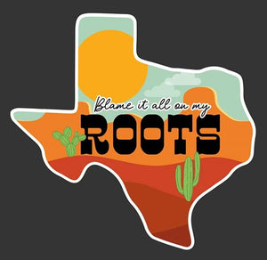 Roots Decal
