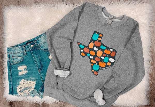 Texas Pumpkin Sweatshirt