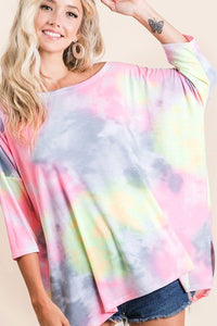Candy Sleeved Top