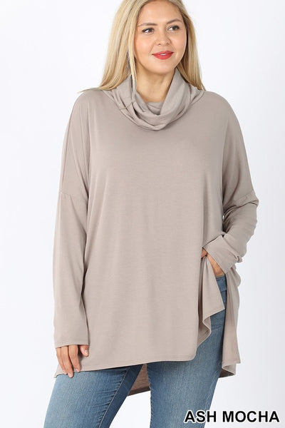 BF Oversized Cowl Neck