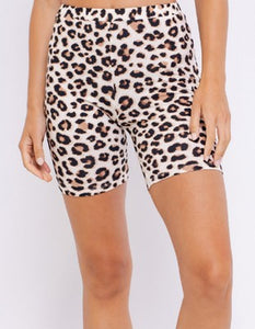 Shelbi Cheetah Biker Shorts