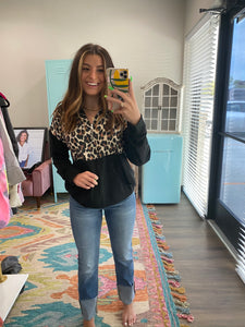Cheetah Zip Jacket