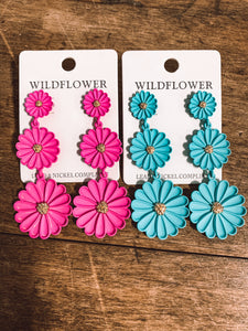 wildflower earring