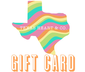 A Texas Heart Gift Card