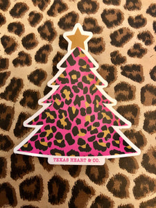 Cheetah Tree Decal