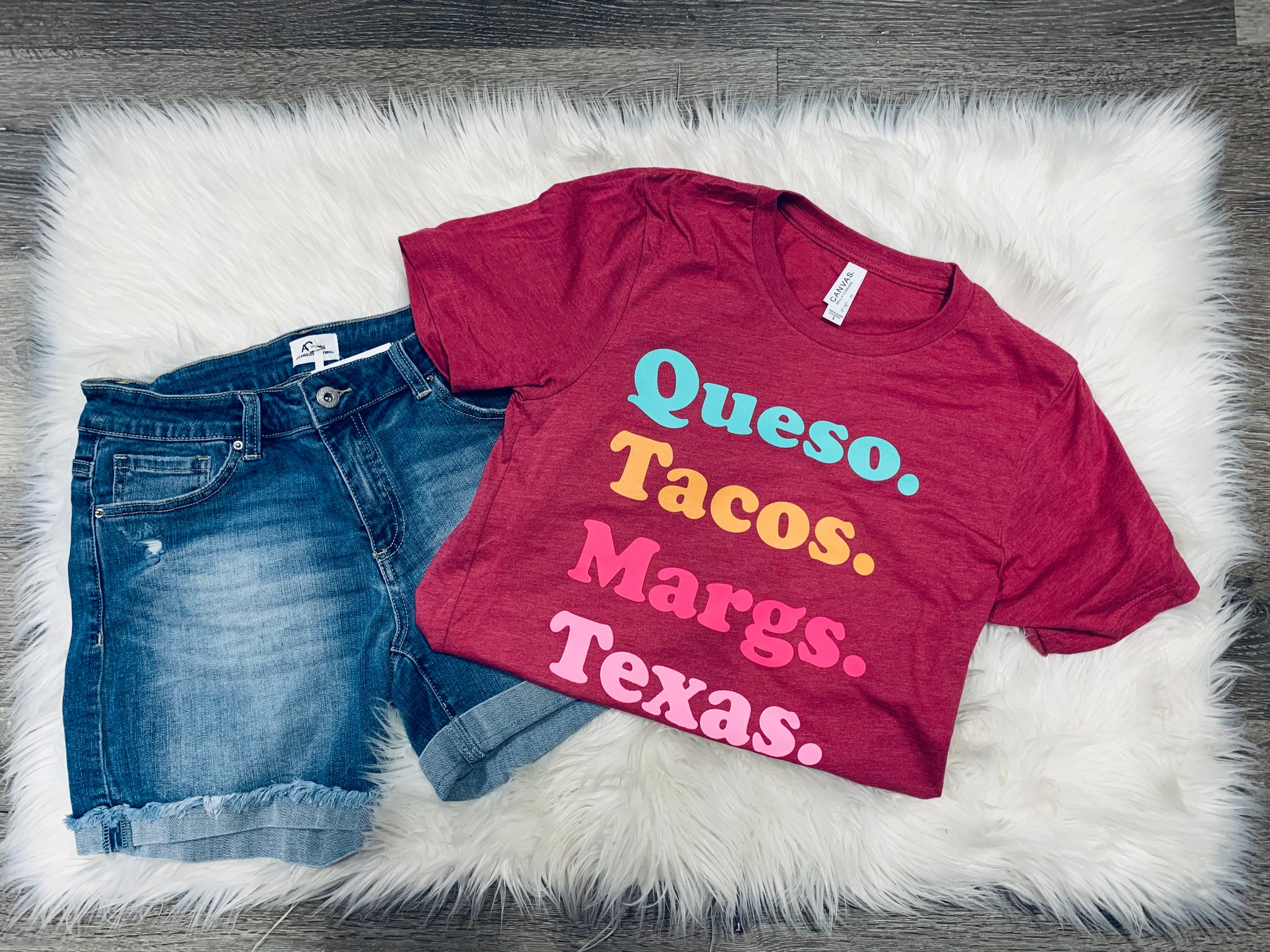 queso. tacos. margs. texas.