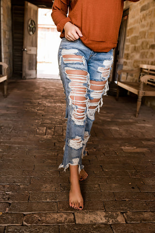 Brooke Distressed Jeans