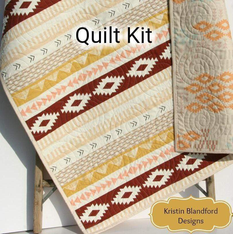 Kristin Blandford Designs Baby Quilt Kit Arizona After Quilt Kit, Art Gallery Fabrics, Wholecloth Quilt Kit, Beginner Quilt Kit, Panel Kit
