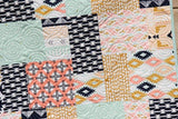 Kristin Blandford Designs Baby Quilt Kit Arizona Quilt Kit, Tribal Baby Bedding Blanket Project, Big Block