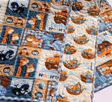 Kristin Blandford Designs Baby Quilt Kit Noah's Ark Quilt Kit Baby or Toddler Biblical Religous Theme Baby Bedding Project