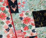 Kristin Blandford Designs Baby Quilt Kit Quilt Kit, Woodland Fusion Art Gallery Fabrics Baby Quilt Kit, Throw Quilt Kit, Twin Quilt Kit Deer
