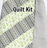 Kristin Blandford Designs Baby Quilt Kits Cactus Quilt Kit, Nursery Baby Bedding, Blanket Project, Sewing Fabrics, Shannon Minky Fabrics, Succulent, Baby Shower Gift, Aztec Grey