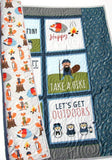 Kristin Blandford Designs Boy Quilts Baby Quilts Handmade, Woodland Nursery, Homemade Quilts, Camping Blanket, Baby Boy Crib Bedding, Animals Fox Beavers, Outdoors Wild and Free