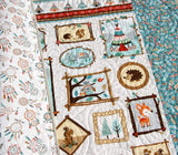 Kristin Blandford Designs Boy Quilts Quilt, Woodland Baby Quilt, Nursery Decor, Nature Outdoors, Blankets, Forest Animals