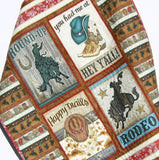 Kristin Blandford Designs Boy Quilts Rodeo Quilt, Western Baby Blanket, Homemade Personalized Crib Bedding, Cowboy Nursery Theme, Boots Horseshoes Monogram Name Boy Decor Stars