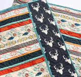 Kristin Blandford Designs Boy Quilts Tribal Baby Quilt, Boho Nursery Bedding, Aztec Baby Quilt, Boy Quilt, Girl Quilt, Boho Baby Girl Gift, Baby Boy Aztec Quilt, Toddler, Quilt