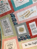 Kristin Blandford Designs Fabrics Heart and Soul Panel Digitally Printed 56x66 inches Kit Options