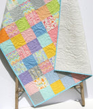 Kristin Blandford Designs Girl Quilts Baby Girl Quilt, Patchwork Blanket, Nursery Decor, Crib Bedding, Girl Baby Quilt, Baby Shower Gift
