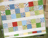 Kristin Blandford Designs Kristin's Quilt Patterns Simply Sashed Quilt Pattern - Charm Pack Friendly