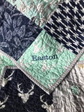 Kristin Blandford Designs Personalize Personalize your Quilt Add Monogramming Name
