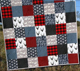 Kristin Blandford Designs Throw Quilts Buffalo Plaid, Throw, Minky Blanket Adult, Deer Minky Blanket, Lumberjack, Boy, Throw Blanket, Lumberjack Quilt, Trending Now, Plaid Blanket