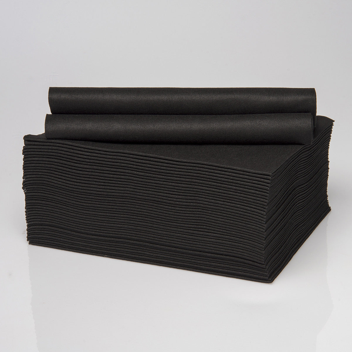 Envirodry Black Towels for the Gym, Sports & Leisure Industry - Pack of 50 towels