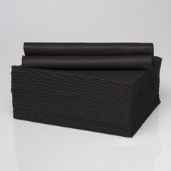 Envirodry Black Towels for Health, Hygiene & Hospitality - Carton of 600 towels