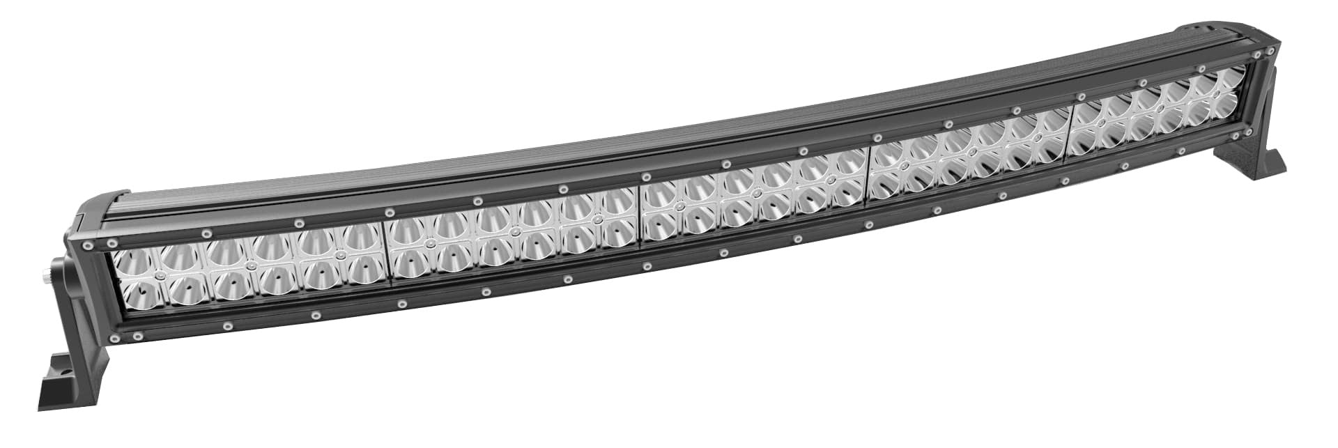 Eclipse curved 400w 40 dual row xtreme led light bar aloadofball Gallery