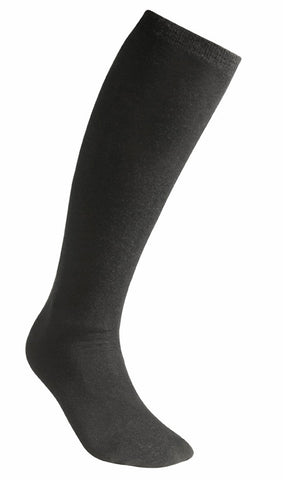 Socks Liner knee high Black