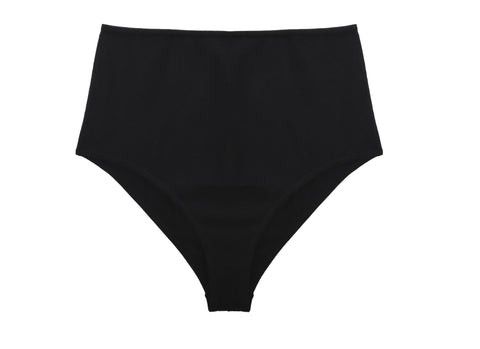 High Waisted Brief Black