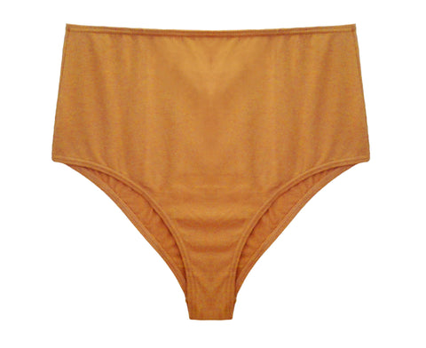 High Waisted Brief Caramel