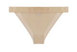 Triangle Brief Sheer Nude