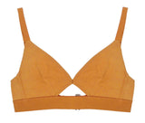 Cut-out Bra Caramel 02