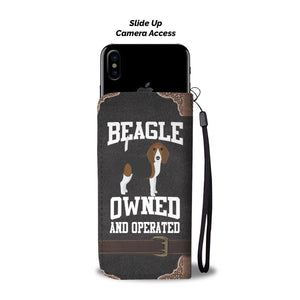Beagle Owned Cellphone Wallet