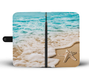 By The Seashore Cellphone Wallet