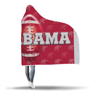 Alabama Crystal Ball Hooded Blankets
