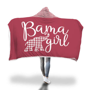 Bama Girl Hooded Blankets