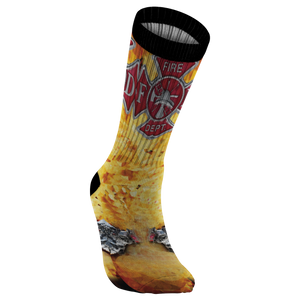 Awesome Firefighter Socks