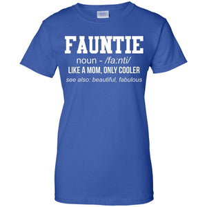 Fauntie Ladies' Fitted T-Shirt