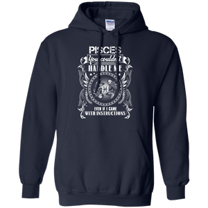 Pisces Can't Handle Me Hoodie