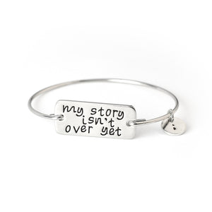 My Story Isn't Over Yet Bracelet