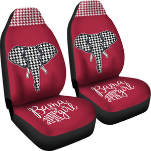 Bama Girl Houndstooth Seat Covers (Set of 2)
