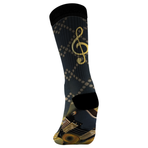 Guitar Lover's Socks