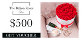 The Billion Roses Gift Card