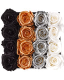 Le Square Gold Ombré - Roses that last a year - only Sydney delivery