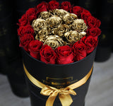 GOLD SÉRIES - LUXE ROUGE - Roses that last one year